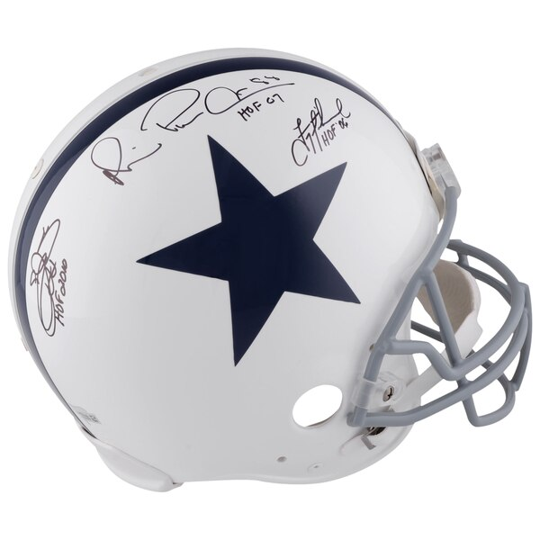 fd97f0392b3 Emmitt Smith Fanatics Authentic Riddell Throwback Pro-Line Helmet with